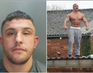 Wrexham strongman in police stand-off wanted on recall to prison