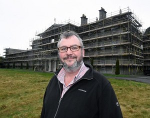 Plas Glynllifon developer digs into archives to ensure £6m restoration is historically accurate