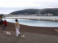 Llandudno paddling pool weapons suspects released as investigation continues