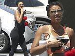 Pregnant Eniko Parrish steps out in LA