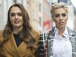 Petra and sister Tamara Ecclestone arrive at court