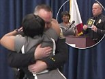 Former drug addict reunites with the Long Beach police officer who helped save her life