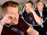 Sir Paul McCartney brings James Corden to tears during Carpool Karaoke in Liverpool