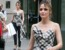 Rose Byrne showcases her flawless post-pregnancy physiqueas she heads to dinner in New York
