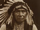 Collection of stunning portraits of North American Indians set to fetch $1.5million at auction